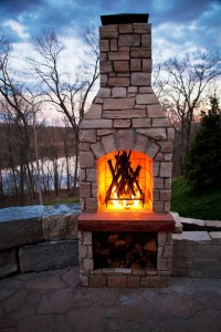By Outdoor - Family Blade ByTheBlade The Anderson - Fireplace -