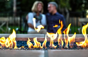 Contact By The Blade For Your Outdoor Fireplace