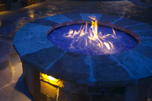 The By Lawnscape By Blade The Fire - Pit - - Blade