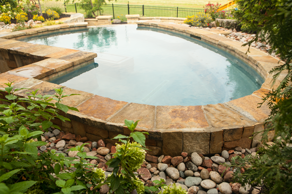 Breathtaking Swimming Pools Inground Pools In Kansas City Mo By The Blade