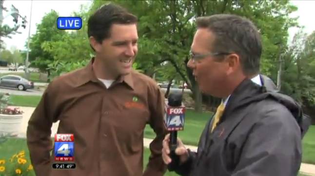 Patrick Vogt gives DIY Landscape tips on Fox4 Kansas City
