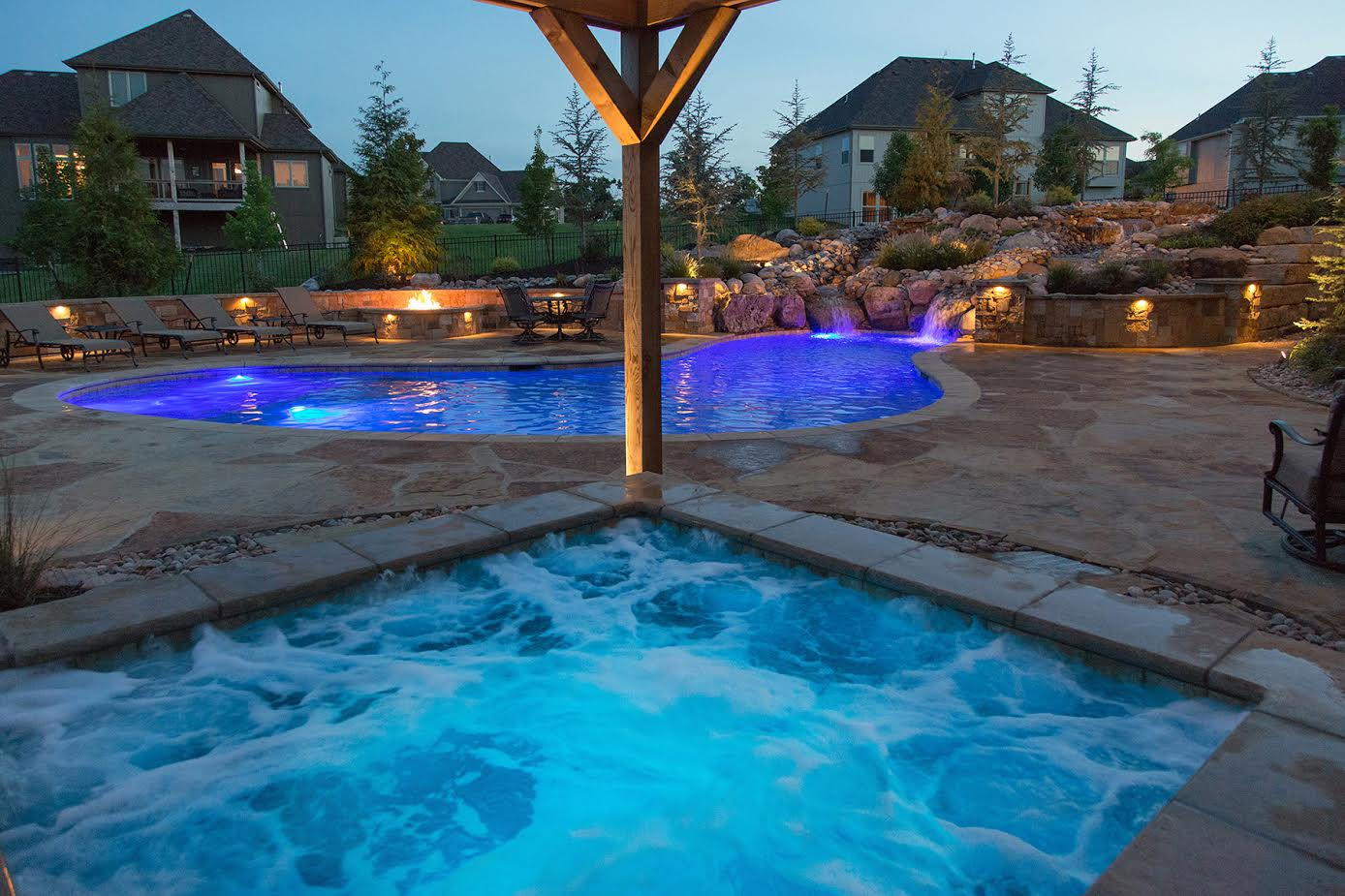Installing An Inground Pool Kc Landscaping